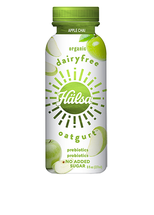 Halsa Organic Apple Chai Oatgurt With Probiotics