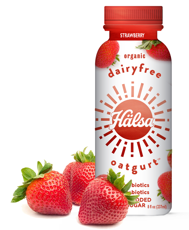 Halsa Organic Strawberry Oatgurt
