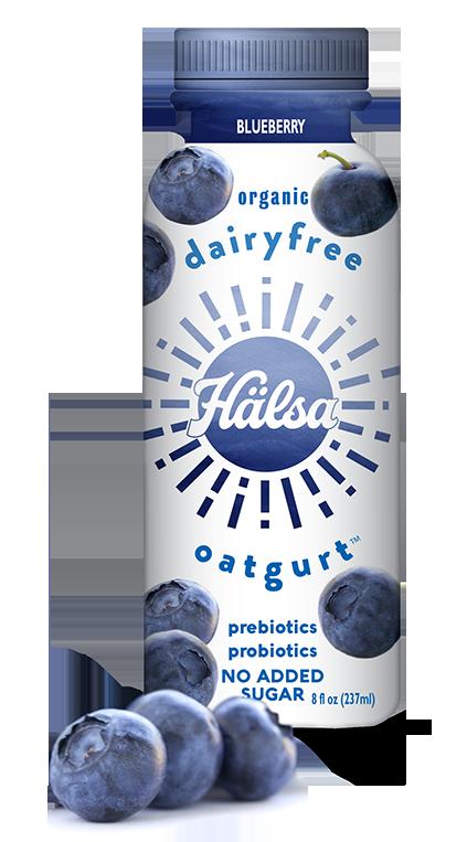 Halsa Organic Blueberry Oatgurt
