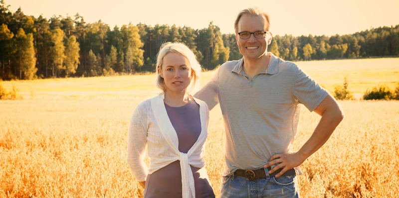 Helena Lumme and Mika Manninen Founders of Halsa