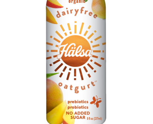 Halsa Organic Mango Oatgurt With Probiotics - No Added Sugar