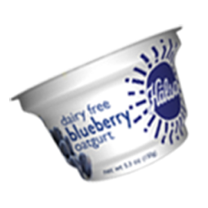Hälsa Dairyfree Organic Oatgurt Blueberry, oat milk, oat yogurt, oatgurt, organic, halsa, 100% clean