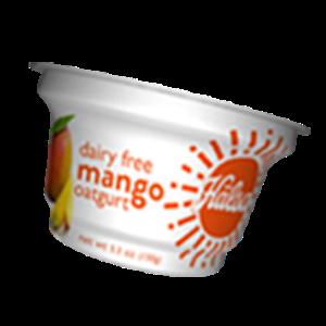 Hälsa Dairyfree Organic Oatgurt Mango, oat milk, oat yogurt, oatgurt, organic, halsa, 100% clean