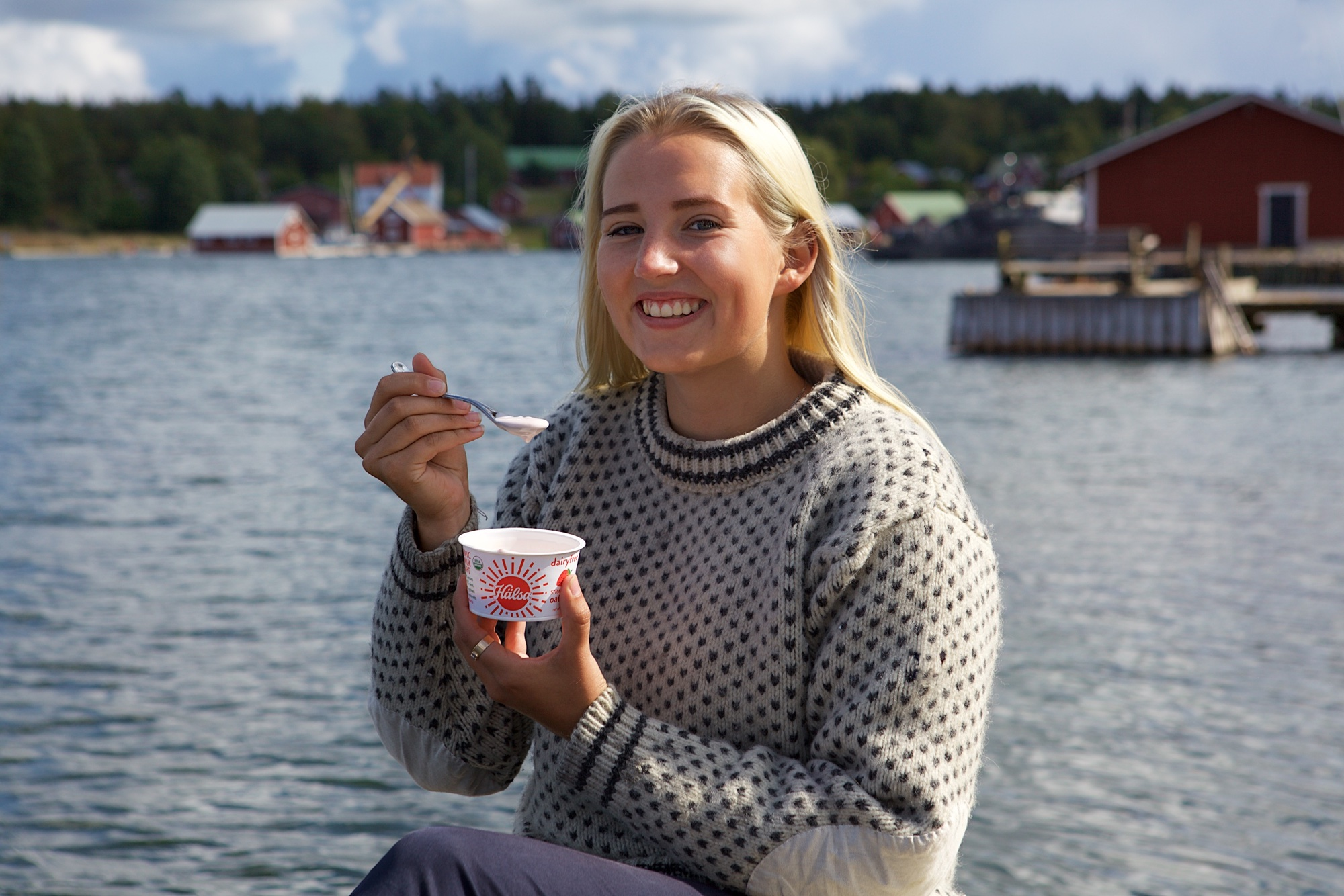 Hälsa Organic Oatmilk Yogurt - No Added Sugar, oat milk, oat yogurt, oatgurt, organic, halsa, 100% clean