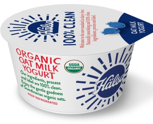 Hälsa Organic Blueberry Oatmilk Yogurt