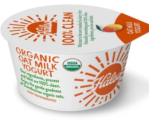 Hälsa Organic Mango Oatmilk Yogurt