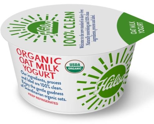 Hälsa Organic Plain Oatmilk Yogurt
