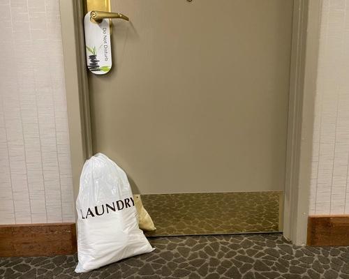 Housekeeping will bring you fresh towels.
