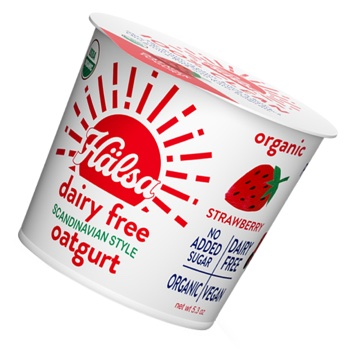Hälsa Organic Strawberry Oatmilk Yogurt
