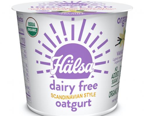 Hälsa Organic Vanilla Oatmilk Yogurt - No Added Sugar, oat milk, oat yogurt, oatgurt, organic, halsa, 100% clean