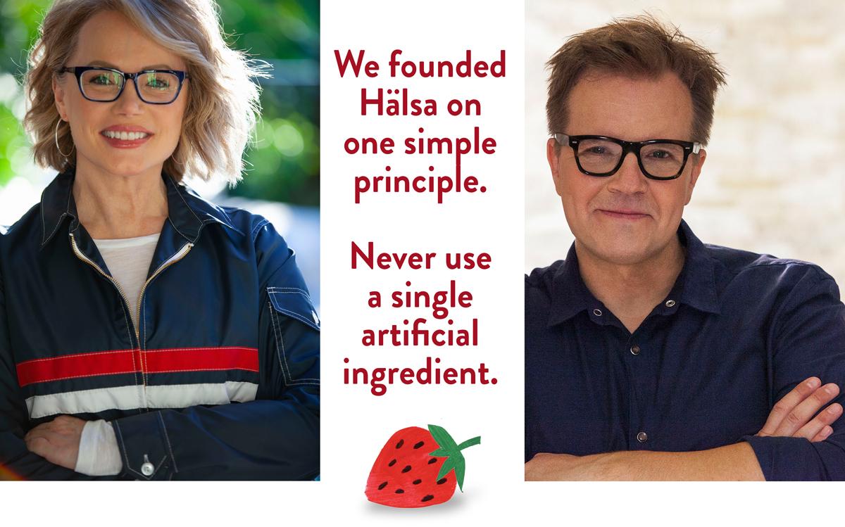 Hälsa Founders Helena Lumme & Mika Manninen