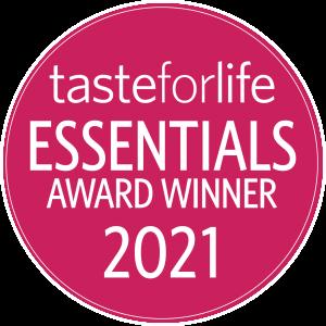 taste for life essentials 2021 award winner Hälsa