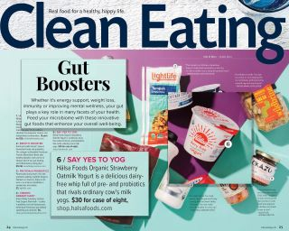 Looking for clean foods that will boost your gut health? 🤔 Look no further! As one of the featured products in the @cleaneatingmag Fall Issue, Hälsa is packed with billions of gut-loving probiotics. #HälsaFoods
